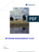 Natwork Management Plan