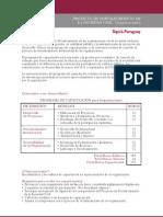 Formulario de inscripción al Programa de Capacitación