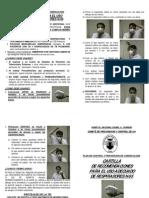 Cartilla Uso Adecuado Respiradores n95