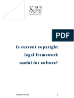 Is current copyright  legal framework  useful for culture?