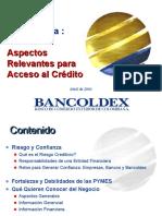 ANALISIS FINANCIERO BANCOLDEX