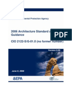 EPA 2006 Architecture Standard and Guidance