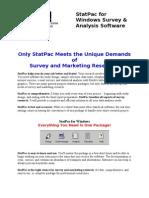 StatPac Brochure
