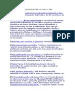 DIRECCIONES MATEMÁTICAS EN LA WEB