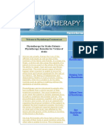 STROKE Physiotherapy Treatment