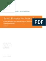 TRUSTe Consumer Mobile Privacy Insights Report
