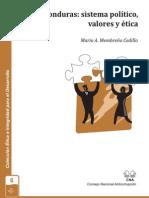Honduras, Sistema Politico, Valores y Etica