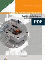 Principes de l'utilisation de SolidWorks Pièces et assemblages