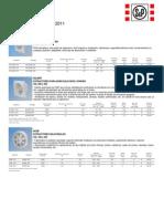Lista de Precios S&P (1-Feb-2011)