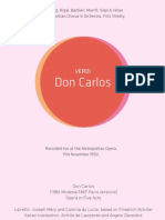 Verdi - Don Carlos booklet