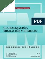 LIBRO Globalización, Migración y Remesas