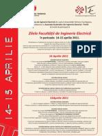2011 Afis Zilele Facultatii de Inginerie Electrica