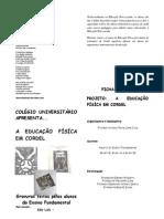 Projeto Educação Física e Cordel