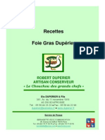 Recettes Foie Gras Duperier Oct05