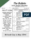 UT Bulletin May 2011