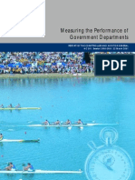 Full Report - Measuring the Performance of Government Departments