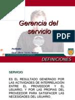 Gerencia Del Servicio