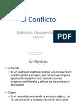 2011 Conflicto Definición Caracteristicas y Teorias