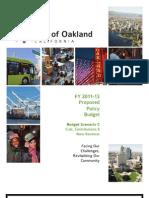 Oakland Budget 2011-13 C