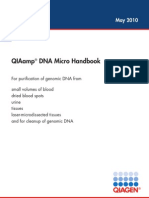 QIAamp DNA Micro Handbook