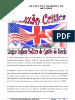 Reflexão Crítica de Inglês de Política de Gestão de Stocks