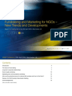 MARKETING and Fundraising in NGOs