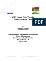 51692773 ASIC Design Flow Tutorial