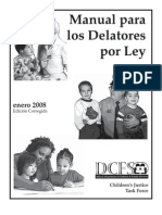 Manual Para Los Delatores Por Ley - DCFS