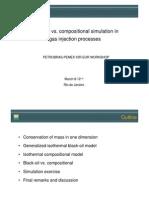Compositional x Black Oil Simulation