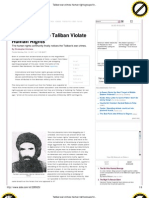 Taliban War Crimes_ Human Rights Groups Finally Notice. - By Christopher Hitchens
