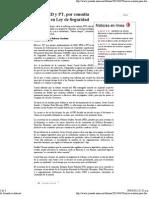 PAN, PRD y PT, por consulta nacional en Ley de Seguridad