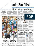 The Daily Tar Heel for April 27, 2011