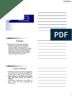Aula Teorica 1 PatologiaClinica CONCEITOS BASICOS