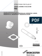 80 125mm Horizontal Flue Instructions
