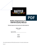 Buffco Eng AS9100 Quality Manual 2-28-06