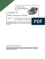 Simulado LXXI - PCF Área 6 - PF - CESPE