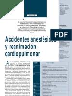 Accidentes en Anestecia