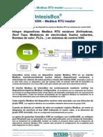 IntesisBox KNX Modbus RTU Master Datasheet Esp