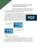 Paper Penentuan Tetapan Kesetimbangan Asam Asetat Berdasarkan Data Daya Hantar