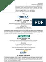 Pernyataan Penawaran Tender Oleh Pt Indika Energy Tbk
