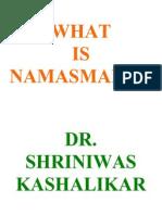 What is Namasmaran Dr. Shriniwas Kashalikar