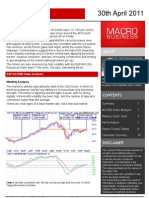 Trading Weekly 30th April 2011 - MacroBusiness