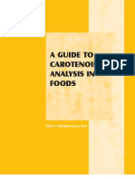 Guide to Carotenoid Analysis in Foods