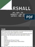 Presentation Marshall