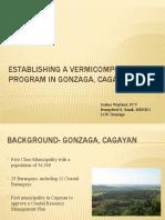 Establishing a Vermicomposting Program in Gonzaga, Cagayan