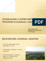 Establishing a Vermicomposting Program in Gonzaga, Cagayan