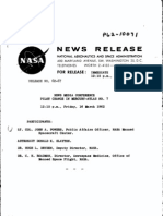 News Media Conference Pilot Change in Mercury-Atlas No. 7