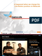 How Metacafe tripled likes, doubled referral traffic