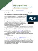 Pa Environment Digest May 2, 2011