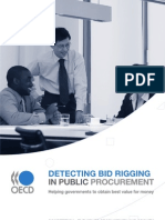2009 - Detecting Bid Rigging in Public Procurement - OECD